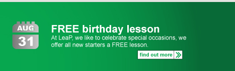 free driving lesson for your birthday