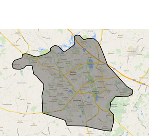 areas covered by leap som milton keynes